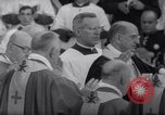 Image of Pope Paul VI formally elevates new Cardinals in Sistine Chapel Rome Italy, 1967, second 9 stock footage video 65675035695