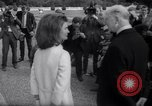 Image of Jacqueline Kennedy chats with Irish President and Mrs. De Valera Dublin Ireland, 1967, second 9 stock footage video 65675035697