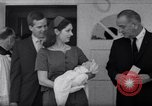 Image of President and Mrs. Lyndon B Johnson attend grandson's baptism Texas United States USA, 1967, second 9 stock footage video 65675035698