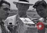 Image of Weather balloon being released from Washington National Airport Washington DC USA, 1941, second 10 stock footage video 65675035708