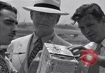 Image of Weather balloon being released from Washington National Airport Washington DC USA, 1941, second 11 stock footage video 65675035708