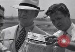 Image of Weather balloon being released from Washington National Airport Washington DC USA, 1941, second 12 stock footage video 65675035708