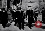 Image of Winston Churchill visiting bombed area of Britain United Kingdom, 1942, second 1 stock footage video 65675035710