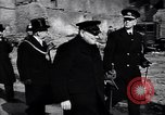 Image of Winston Churchill visiting bombed area of Britain United Kingdom, 1942, second 4 stock footage video 65675035710