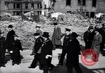 Image of Winston Churchill visiting bombed area of Britain United Kingdom, 1942, second 9 stock footage video 65675035710