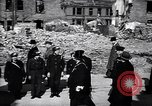 Image of Winston Churchill visiting bombed area of Britain United Kingdom, 1942, second 10 stock footage video 65675035710