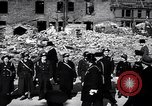Image of Winston Churchill visiting bombed area of Britain United Kingdom, 1942, second 11 stock footage video 65675035710