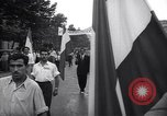 Image of Street demonstration protest march Tehran Iran, 1951, second 12 stock footage video 65675035717