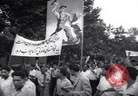 Image of Iranian demonstration for nationalization of Anglo-Iranian Oil Company Tehran Iran, 1951, second 1 stock footage video 65675035719