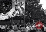 Image of Iranian demonstration for nationalization of Anglo-Iranian Oil Company Tehran Iran, 1951, second 3 stock footage video 65675035719