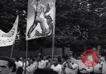 Image of Iranian demonstration for nationalization of Anglo-Iranian Oil Company Tehran Iran, 1951, second 4 stock footage video 65675035719
