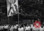 Image of Iranian demonstration for nationalization of Anglo-Iranian Oil Company Tehran Iran, 1951, second 5 stock footage video 65675035719