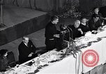 Image of Christopher spokesman Catholic Priest New York United States USA, 1951, second 7 stock footage video 65675035727