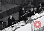 Image of Christopher spokesman Catholic Priest New York United States USA, 1951, second 10 stock footage video 65675035727
