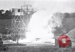 Image of Missile flight test Peenemunde Germany, 1942, second 10 stock footage video 65675035734