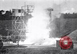Image of Missile flight test Peenemunde Germany, 1942, second 12 stock footage video 65675035734