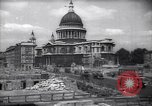 Image of Saint Paul's Cathedral London England United Kingdom, 1943, second 1 stock footage video 65675035742