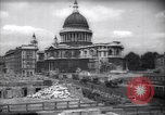 Image of Saint Paul's Cathedral London England United Kingdom, 1943, second 2 stock footage video 65675035742