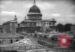 Image of Saint Paul's Cathedral London England United Kingdom, 1943, second 3 stock footage video 65675035742