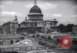 Image of Saint Paul's Cathedral London England United Kingdom, 1943, second 4 stock footage video 65675035742