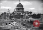 Image of Saint Paul's Cathedral London England United Kingdom, 1943, second 8 stock footage video 65675035742