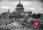 Image of Saint Paul's Cathedral London England United Kingdom, 1943, second 10 stock footage video 65675035742