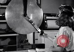 Image of Pendulum cutter and plastic products Long Island New York USA, 1945, second 9 stock footage video 65675035750