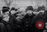 Image of Lenin's speech to civilians and soldiers Russia, 1919, second 8 stock footage video 65675035764