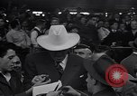 Image of Jack Dempsey at Brooklyn Dodgers game Brooklyn New York City USA, 1942, second 4 stock footage video 65675035769