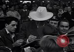Image of Jack Dempsey at Brooklyn Dodgers game Brooklyn New York City USA, 1942, second 8 stock footage video 65675035769