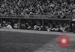 Image of Brooklyn Dodgers fans rush field Brooklyn New York City USA, 1942, second 11 stock footage video 65675035771