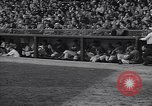 Image of Brooklyn Dodgers fans rush field Brooklyn New York City USA, 1942, second 12 stock footage video 65675035771