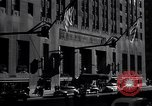Image of Hotel Waldorf Astoria in 1940s New York City USA, 1942, second 2 stock footage video 65675035773