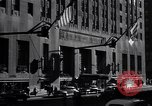 Image of Hotel Waldorf Astoria in 1940s New York City USA, 1942, second 4 stock footage video 65675035773