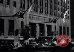 Image of Hotel Waldorf Astoria in 1940s New York City USA, 1942, second 5 stock footage video 65675035773