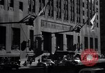 Image of Hotel Waldorf Astoria in 1940s New York City USA, 1942, second 6 stock footage video 65675035773