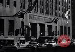 Image of Hotel Waldorf Astoria in 1940s New York City USA, 1942, second 7 stock footage video 65675035773