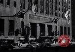 Image of Hotel Waldorf Astoria in 1940s New York City USA, 1942, second 8 stock footage video 65675035773