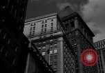 Image of Wall Street landmarks New York United States USA, 1942, second 6 stock footage video 65675035774