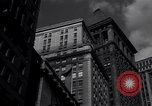 Image of Wall Street landmarks New York United States USA, 1942, second 9 stock footage video 65675035774