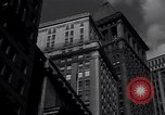 Image of Wall Street landmarks New York United States USA, 1942, second 12 stock footage video 65675035774