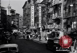 Image of Chinatown in Manhattan New York United States USA, 1942, second 10 stock footage video 65675035775