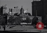 Image of New York City Hall and NYSE New York United States USA, 1942, second 9 stock footage video 65675035776
