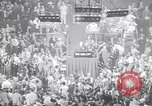 Image of Herbert Hoover addresses RNC Cleveland Ohio USA, 1936, second 1 stock footage video 65675035781