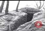 Image of US army position at its bunker Korea, 1951, second 1 stock footage video 65675035798