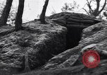 Image of US army position at its bunker Korea, 1951, second 3 stock footage video 65675035798
