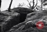 Image of US army position at its bunker Korea, 1951, second 5 stock footage video 65675035798