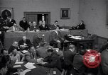 Image of court hearing a case on gangster Frank Costello United States USA, 1951, second 3 stock footage video 65675035801