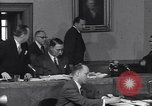 Image of court hearing a case on gangster Frank Costello United States USA, 1951, second 6 stock footage video 65675035801