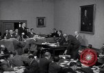 Image of court hearing a case on gangster Frank Costello United States USA, 1951, second 8 stock footage video 65675035801